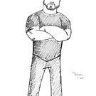 Travis Guitarist by Gillian J.