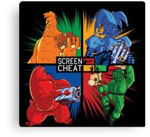 Screencheat Key Art Canvas Print