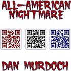 The All-American Nightmare QR T-Shirt by DMurdoch1388