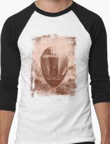 KeenSkaters Full Face Sepia Men's Baseball ¾ T-Shirt
