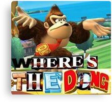where is the dong Canvas Print