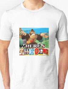 where is the dong Unisex T-Shirt
