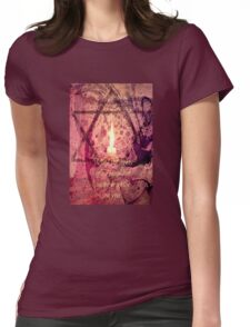 Festival of Lights Womens Fitted T-Shirt