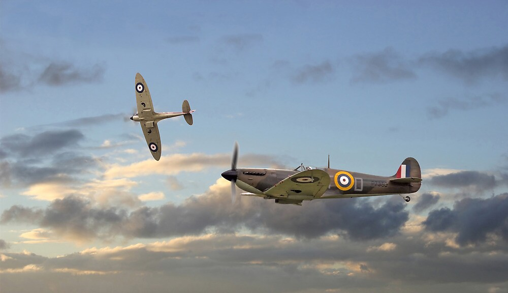 Spitfire - 'Home and Tea' by Pat Speirs