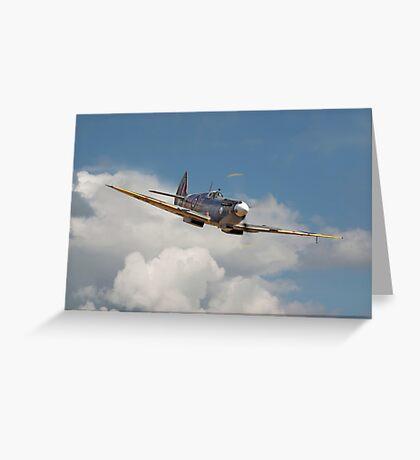 Spitfire- Portrait Greeting Card