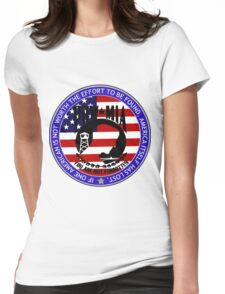 Even 1 American POW-MIA Womens Fitted T-Shirt