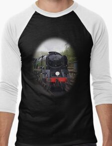 Steam Train-Tee/Hoodie Men's Baseball ¾ T-Shirt