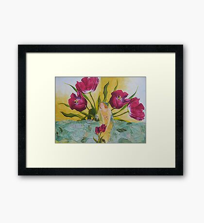 While The Sun Shines Framed Print