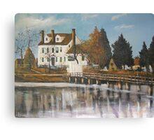Drummond House, Ghent, Old Norfolk, Virginia 1885 Canvas Print