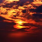 Painted Sunset by seanwareing