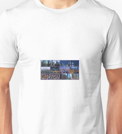 Chicago Skylines Unisex T-Shirt