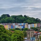 Little Boxes on the Hillside by KarenM