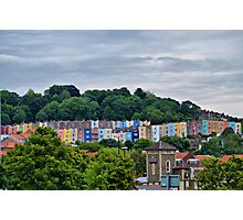 Little Boxes on the Hillside Photographic Print