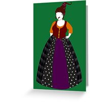 Hocus Pocus - Mary Sanderson Greeting Card