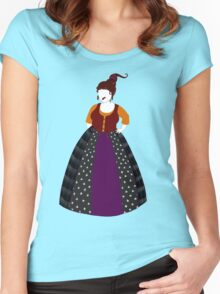 Hocus Pocus - Mary Sanderson Women's Fitted Scoop T-Shirt