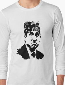 The Office Prison Mike -  Steve Carrell Long Sleeve T-Shirt