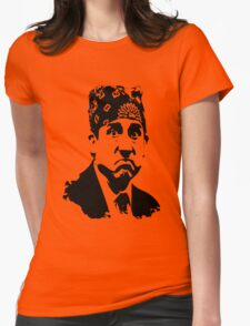 The Office Prison Mike -  Steve Carrell Womens Fitted T-Shirt