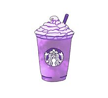 purple Starbucks drink by lobsters123