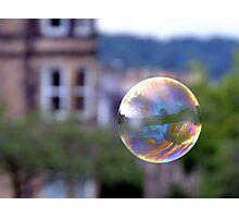 Bubble And Tenements Photographic Print