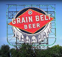 Iconic Grain Belt Bottle Cap by kkmarais