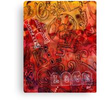 The Alpha Alpha Social Network  Canvas Print