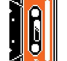 8 Bit Cassette Tape by Ieur