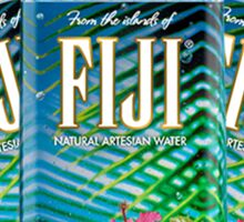Fiji Water Bottles Sticker
