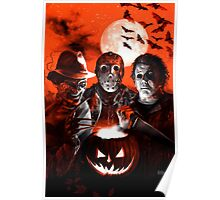 Super Villains Halloween Poster