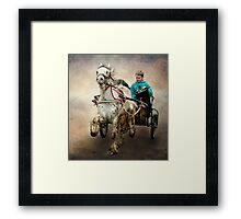 Gypsy Trot Framed Print