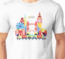 London - pixel art Unisex T-Shirt