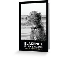 Blakeney is SO bracing Greeting Card