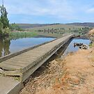 Jetty into Meadowbank by Graeme  Hyde