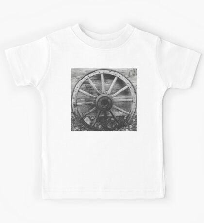 Wagon Wheel - Ouray Museum Kids Tee