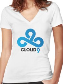Cloud9 Women's Fitted V-Neck T-Shirt