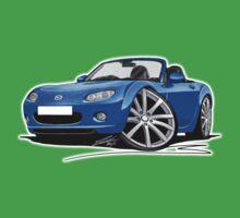 Mazda MX5 (Mk3) Blue One Piece - Short Sleeve