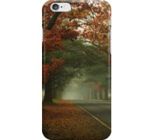 A crisp foggy morning iPhone Case/Skin