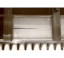 Little Falls, NJ - Diner Window Photographic Print