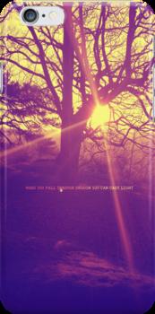 Fall Through Shadow by signofangelo