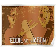 Eddie vs. Jason Poster