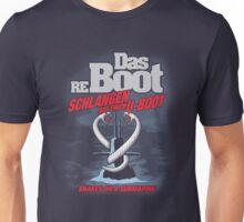 Das reBoot - Schlangen auf einem U-Boot Unisex T-Shirt