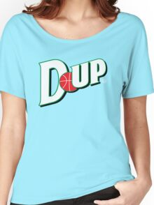 "Vict ""D-up Basketball""  Women's Relaxed Fit T-Shirt"
