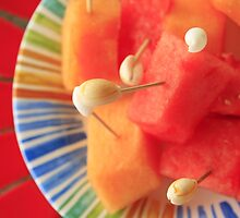 Cantaloupe and Watermelon by mhm710