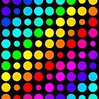 Circle Rainbow (Black) by crhodesdesign