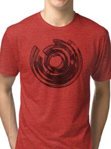 Mind Maze Real 3D Mess Grunge T-Shirt Tri-blend T-Shirt