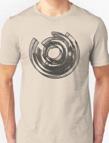 Mind Maze Real 3D Mess Grunge T-Shirt T-Shirt