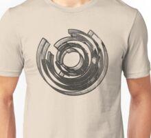 Mind Maze Real 3D Mess Grunge T-Shirt Unisex T-Shirt