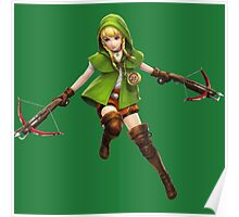 Linkle Hyrule Warriors Poster