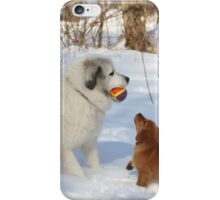 Uncle Goliath Please Share The Ball iPhone Case/Skin