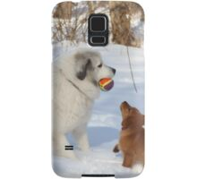 Uncle Goliath Please Share The Ball Samsung Galaxy Case/Skin
