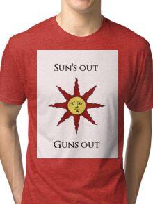 Sun's Out: Guns Out \o/ Tri-blend T-Shirt